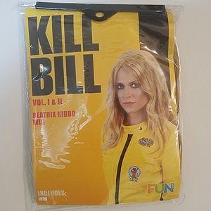 FUN Kill Bill Beatrix Kiddo Wig NWT